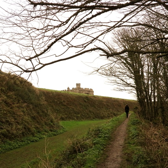 Knowing your route lets you find historical landmarks like Pendennis Castle near Falmouth