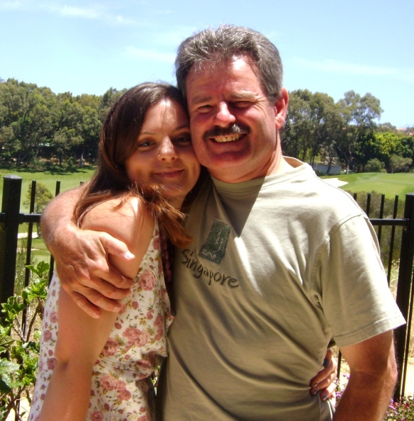 Me and my dad in sunny Australia