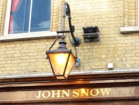 The John Snow pub - named after cholera source catcher