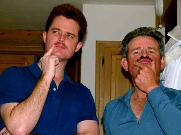 Now that I can ski I feel more accepted by my ski fanatic father-in-law Keith. The moustache helps too I think