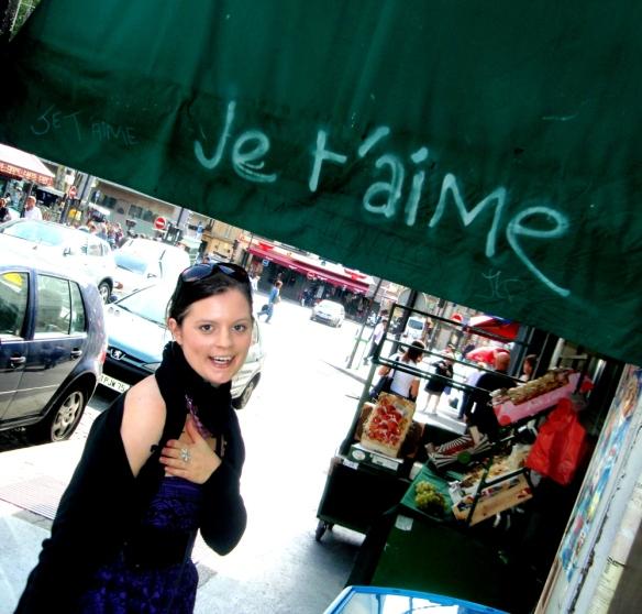 It's true - Paris je t'aime!